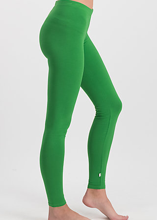 logo leggings, back to green, Leggings, Green