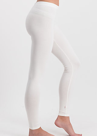 logo leggings, back to white, Leggings, White