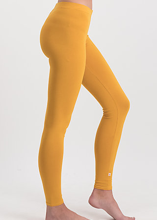 logo leggings, back to yellow, Leggings, Yellow