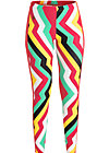 officejogger pants, super rainbow stripes, Leggings, Rot