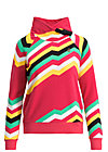 oh so nice sweat, super rainbow stripes, Jumpers & lightweight Jackets, Red