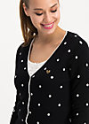 powerdots cardigan, super black dot, Jumpers & lightweight Jackets, Black