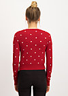 Cardigan powerdots, super red dot, Cardigans & lightweight Jackets, Red