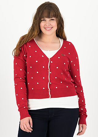 powerdots cardigan, super red dot, Jumpers & lightweight Jackets, Red