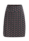 preachers dearest skirt, super cherry dot, Röcke, Schwarz