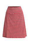preachers dearest skirt, super flower, Skirts, Red