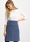 Jersey Skirt preachers dearest, super star, Skirts, Blue