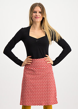 preachers dearest skirt, super flower, Röcke, Rot