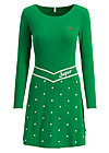 punktemädel dress, super green dot, Kleider, Grün