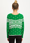 space safari sweater, super green dot, Pullover & leichte Jacken, Grün