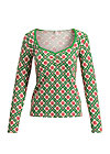 super trooper longsie, super flower romantic, Shirts, Green