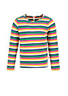 superheldin longsie, rainbow stripes, Shirts, Blau