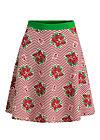 supernatural skirt, super bouquet stripes, Skirts, Red