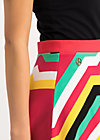 supernatural skirt, super rainbow stripes, Skirts, Red