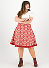superpower skirt, super ornamental, Skirts, Red