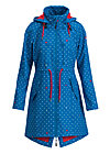 swallowtail promenade coat, blue anchor love, Jacken & Mäntel, Blau