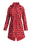 swallowtail promenade coat, eat the apple, Jackets & Coats, Red