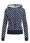 sweet little supergirl zip, super heart, Pullover & leichte Jacken, Blau