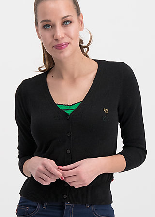 sweet petite cardy, black apple, Jumpers & lightweight Jackets, Black
