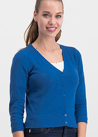 sweet petite cardy, blue apple, Pullover & leichte Jacken, Blau