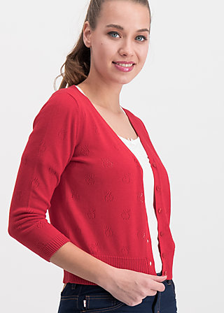 sweet petite cardy, red apple, Pullover & leichte Jacken, Rot
