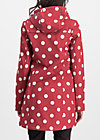 wild weather long anorak, darling dot, Jackets & Coats, Red