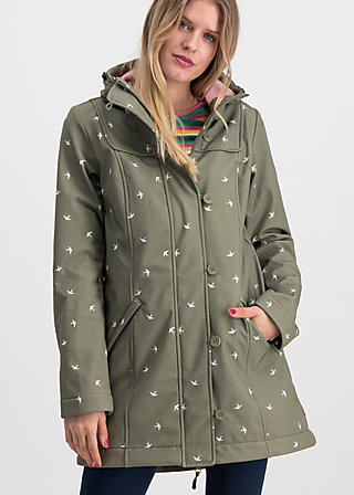 wild weather long anorak, snow swallow, Jackets & Coats, Green