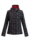 wild weather petit anorak, red hood, Jackets & Coats, Black