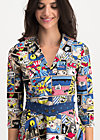 wonder woman dress, super comic, Kleider, Blau