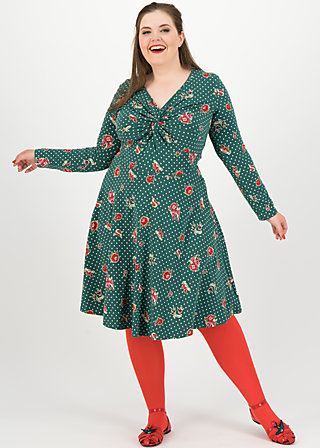cold days hot knot robe, lady love , Dresses, Green
