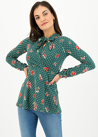 dancing queen blouset, lady love, Shirts, Green