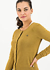 ladyklappe cardigan, gold glitter, Jumpers & lightweight Jackets, Yellow