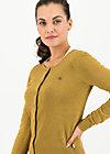 ladyklappe cardigan, gold glitter, Pullover & leichte Jacken, Gelb