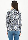 miraculous power shirt , silky snowflower, Shirts, Blau