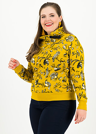 oh so nice sweat, golden fauna, Jumpers & lightweight Jackets, Yellow