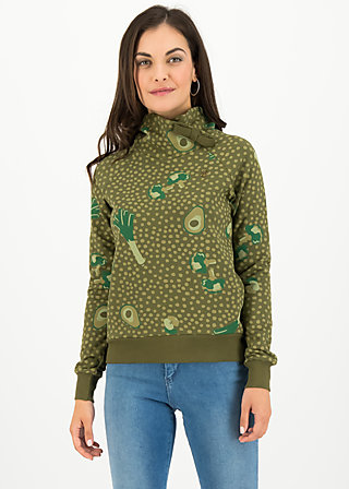 Sweater oh so nice, veggie love, Jumpers & Sweaters, Green