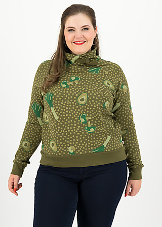 oh so nice sweat, veggie love, Jumpers & lightweight Jackets, Green