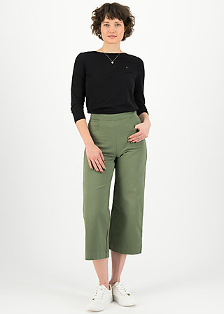 savoir vivre sister pants, light khaki, Trousers, Green