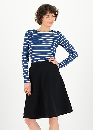 savoir vivre sister skirt, black shadow, Skirts, Black