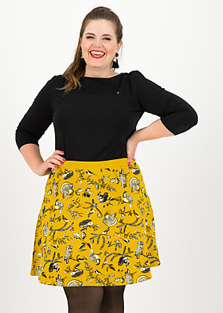 supernatural skirt, golden fauna, Skirts, Yellow