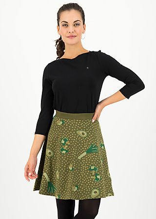 supernatural skirt, veggie love, Röcke, Grün