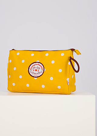 sweethearts washbag, north north west, Accessoires, Yellow