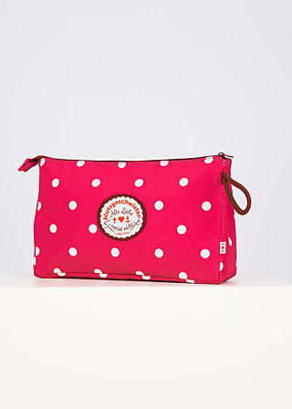 sweethearts washbag, pink point, Accessoires, Rosa