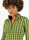Herbstkleid honest heart, pied-de-poule green, Kleider, Grün