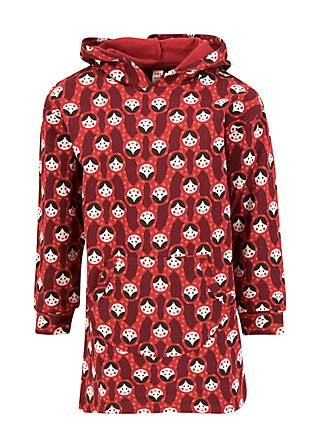 Kinder-Pullover winterwunder longster, rolling ruschka, Shirts, Rot