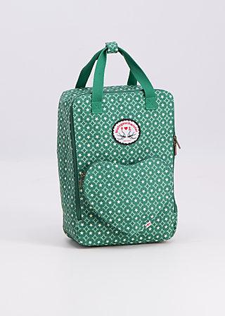 big lovepack, stars forever, Shopper & Rucksäcke, Grün