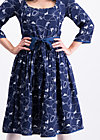 calamity jane dress, swinging lasso , Kleider, Blau