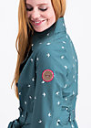 casablanca souvenir trench , fly to the sky , Softshell, Blau