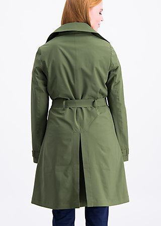 casablanca souvenir trench , into the wild , Jackets & Coats, Green