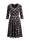 country rose swing dress, promised land, Jerseykleider, Schwarz